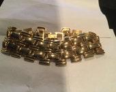 Vintage Wide Link Bracelet