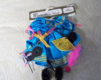"Muffy VanderBear Wear 1991 ""Bal Masque"" Muffy Party Dress NOS"