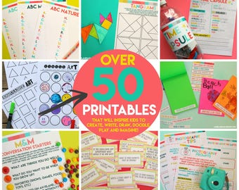 Kids activity printable pack