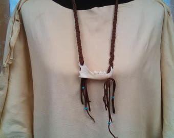 Bobcat Jawbone Necklace or Wall Art