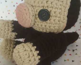 Made to Order - A Jumbo Niffler Amigurumi - Fantastic Beasts and Where To Find Them- Harry Potter