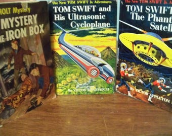 two tom swifts and 1 ken holt mystery  from the fifties