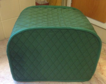 Hunter Green 2 Slice Kitchen Toaster Cover Made To Order