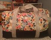 Custom Rifle Paper Adventurer bag for Ashley Oliver