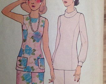 Vintage McCall's 3913 Misses' Tops and Pants - size 10