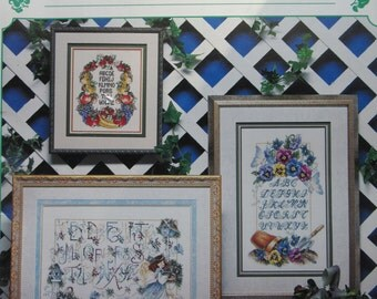 Samplers to Treasure/Counted Cross Stitch Patterns by Stoney Creek/1996/Sampler Pattern/Needlecraft/Wall Hanging
