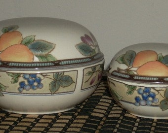 Mikasa Garden Harvest Covered Boxes Bowls