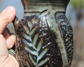 Ironstone Leaf Mug