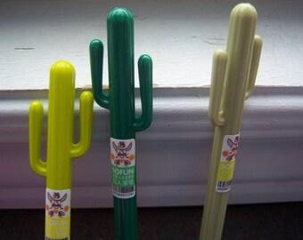 Cactus Pens - Pens - Set O f 3 Cacus Pens