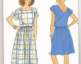 Classic 1985 Butterick 3278 UNCUT Sewing Pattern Misses' Top and Skirt Size 6-8-10 Bust 30-1/2 - 31-1/2 - 32-1/2