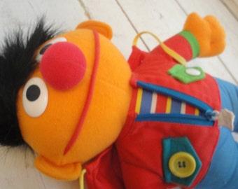 1980s Dress me Up Ernie Vintage Sesame Street