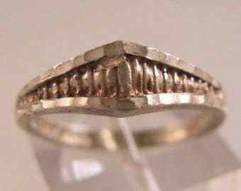 Sterling Silver Band Ring Size 5.5 Vintage Jewelry Jewellery