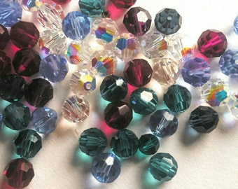 Swarovski (Austrian) crystal beads destash mixes