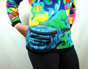 Vintage 80s Guatemalan Fanny Pack