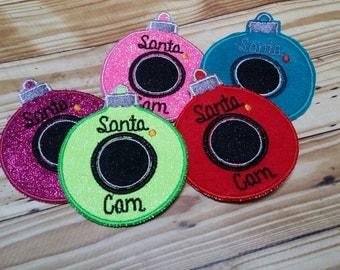 Santa Cam ornaments *RTS*