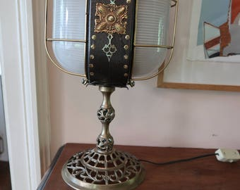 Captain Nemo's desk lamp