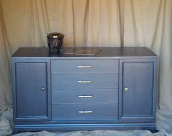 Credenza Vintage Sideboard/Buffet Custom PAINT to ORDER Poppy Cottage Painted Furniture