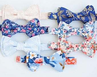 Bow Tie, Mens Bow Tie, Bowtie, Bowties, Bow Ties, Groomsmen Bow Ties, Wedding Bowties, Rifle Paper Co - Floral Rifle Paper Co Collection