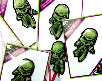 Creature From the Black Lagoon Brooch Horror Pin - Pin - Jewelry - Halloween