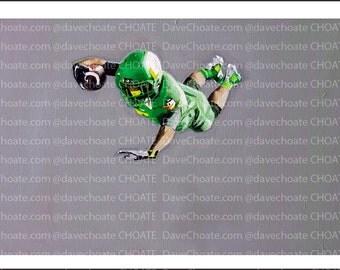 Oregon Ducks Football. Rose Bowl vs Florida State Art Photo Print