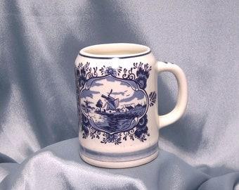 Dutch Blue and White Delft Coffee Tea Mug