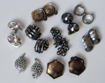Mixed MidCentury Lot for Repair or Jewelry Craft