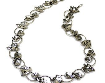 Taro Leaf Necklace