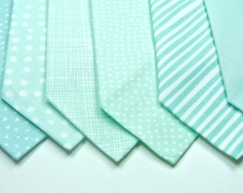 Mint Neckties Wedding Neckties Mint Green Neckties Custom Neckties Mens Neckties Mint Wedding Ties