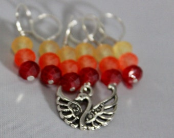 Order of the Phoenix Stitch Markers