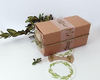 Mini Plant Kit, Herb Seeds, Herb Garden Kit, Basil and Cilantro Seed Garden, Nature Gift, Spring Gardening, Apartment Gardening