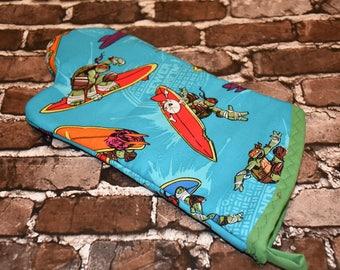 Teenage Mutant Ninja Turtles Inspired Oven Mitt