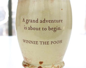 Winnie the Pooh's Grand Adventure Ceramic Message Quoted Cup or Coffee Mug