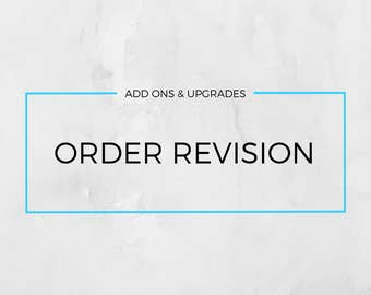 DistinctlyIvy Order Revision • QQQ • Upgrades & Exchanges
