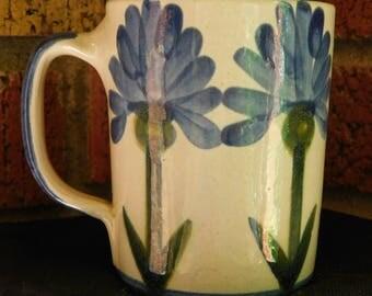 Louisville Pottery Hand Painted Coffee Mug