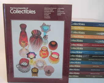 Vintage 16 Vol. Encyclopedia of Collectibles Time Life Complete Set 1978