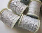 cloth covered wire - WHITE - 10 yard spools, 32 gauge