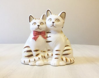 Vintage cats, cat figurines, collectible cats, porcelain cats, vintage kittens, kitten figurines, cat ornaments, cat statue, cat lover gift
