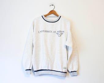 Vintage Gray University of Akron Sweatshirt