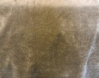 Green Velvet Upholstery Fabric | U17164