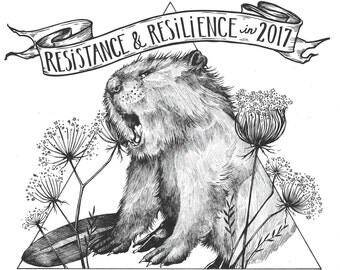 """15%0ff SALE!!! CALENDAR for 2017 """"Resistance and Resilience"""""""