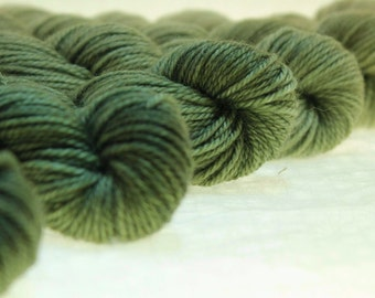 Mini Skein Ombre Gradient Yarn Choose Your Base -  KALE