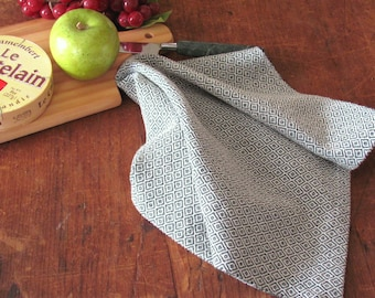 Gourmet Chef Gift, Cooking Gift, Foodie Gift, Kitchen Gift Baking Gift, Modern Rustic French Farmhouse Decor Woven Cotton Kitchen Dish Towel