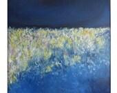 CUSTOM Abstract  Modern Minimalist Acrylic Painting on Canvas - 40x48