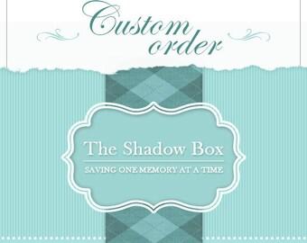 Custom Order: D. Groth