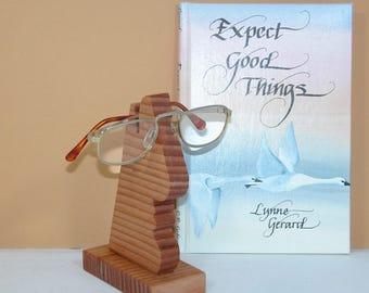 Eye Glass Holder (a/k/a Mr. Nose) - Office Accessory - Home Decor