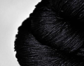 Black Hole - Silk Lace Yarn
