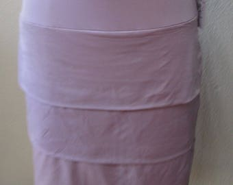 Lavender A Line  Skirt with 5 layers plus made in U.S.A  (V172)
