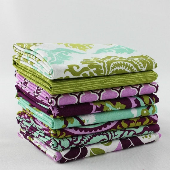 Aviary 2 by Joel Dewberry  8- Fat Quarters Quilt Fabric Bundle- for Free Spirit