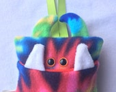 Tooth Fairy Pillow | Tie Dyed Tooth Monster | Tooth Fairy Monster Pillow