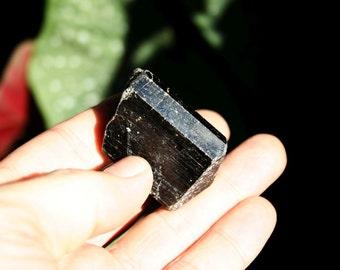 Black Tourmaline Crystal Specimen